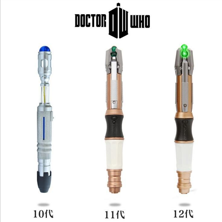 2017 NEW hot Dr.WHO 10th 11th 12th Sonic Screwdriver Doctor who collectors action figure toys Christmas gift doll new hot 17cm avengers thor action figure toys collection christmas gift doll with box j h a c g