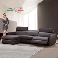 Living Room Sofa Set Corner Sofa Recliner Electrical Couch Genuine Leather Sectional Sofas Muebles De Sala
