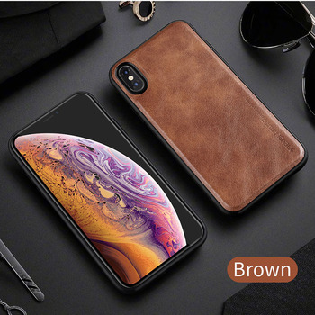 Leather Case Shockproof iPhone X