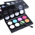 2016 nova moda terra 8 cores Matte Pigment Eyeshadow Palette cosméticos maquiagem sombra de olho para as mulheres Top Quality