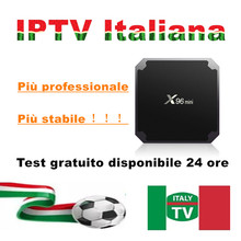 Italy IPTV M3U subscription for Italy for M3U Enigma2 MAG Smart tv
