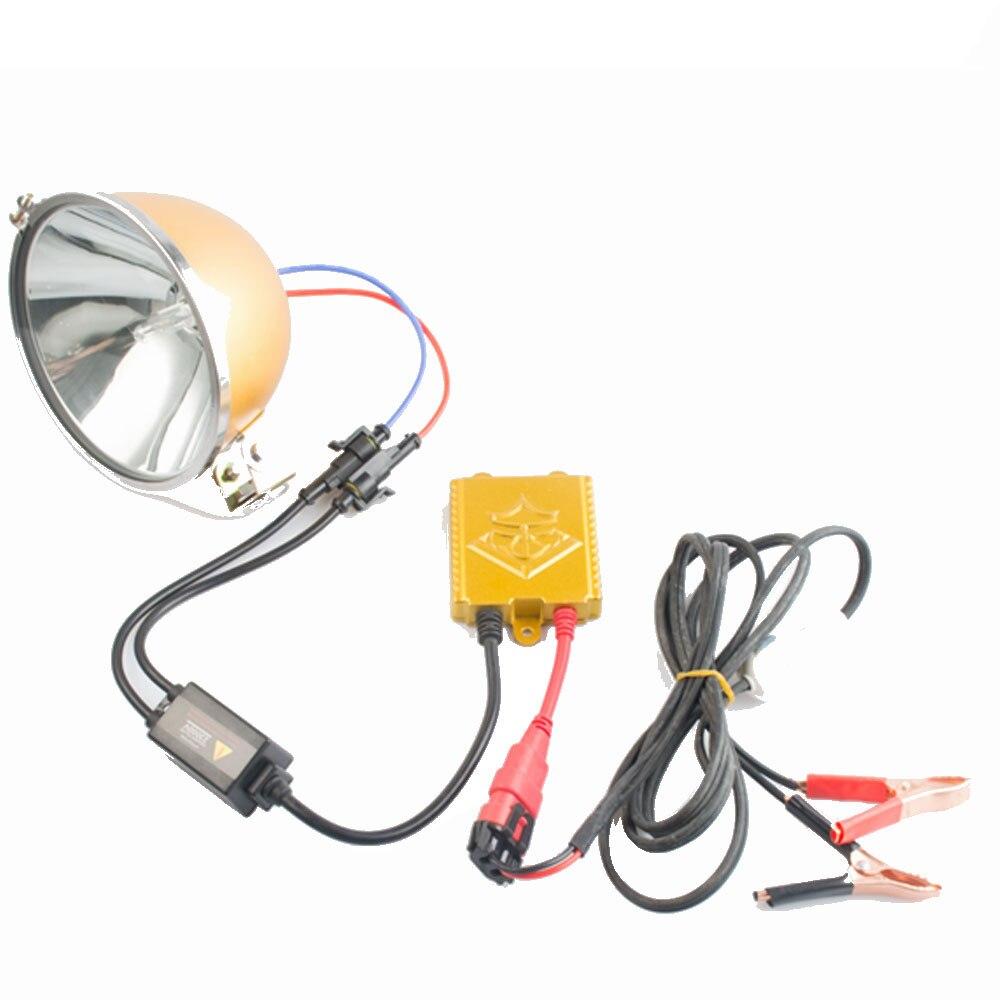JUJINGYUANG Xenon lamp set strong light HID lamp 15 cm lamp head spotlight headlight