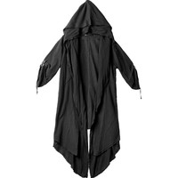 Dark Windbreaker Personality Cloak Nightclub Coat Male Gothic Fake Two Over The Knee Robes Long Coat Men Steampunk Jacket
