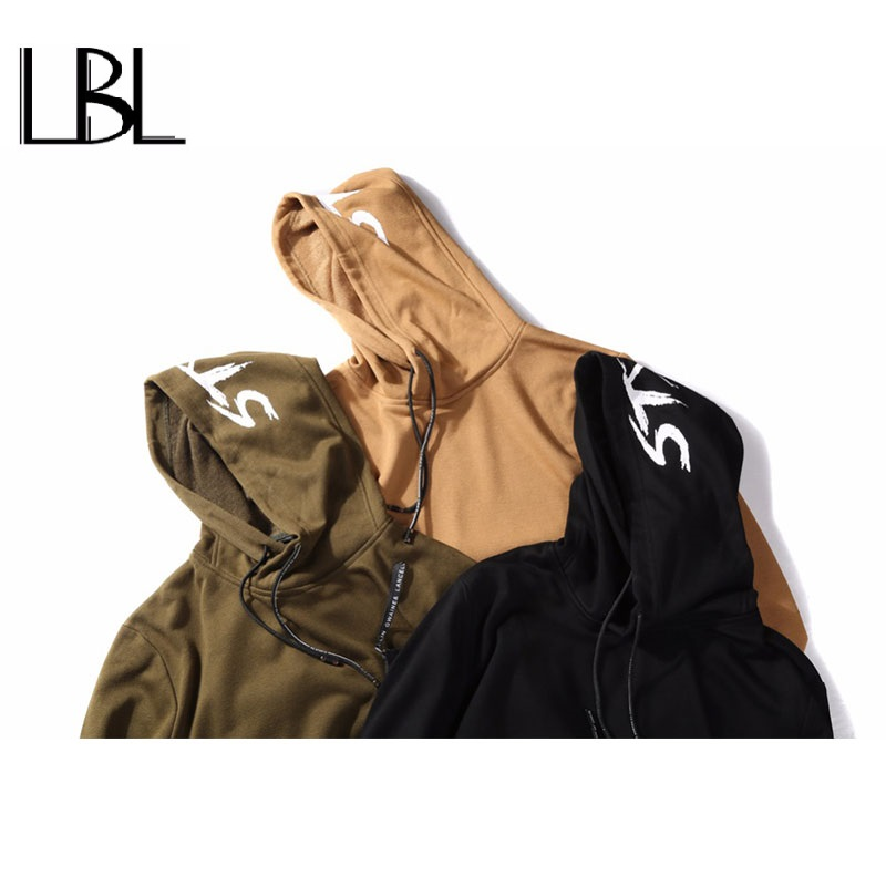 Casual Hooded Men Hoodies and Sweatshirts Male Hip Hop Fashion Popular Brand Clothing New Streetwear Sudadera hombre US Size 2XL