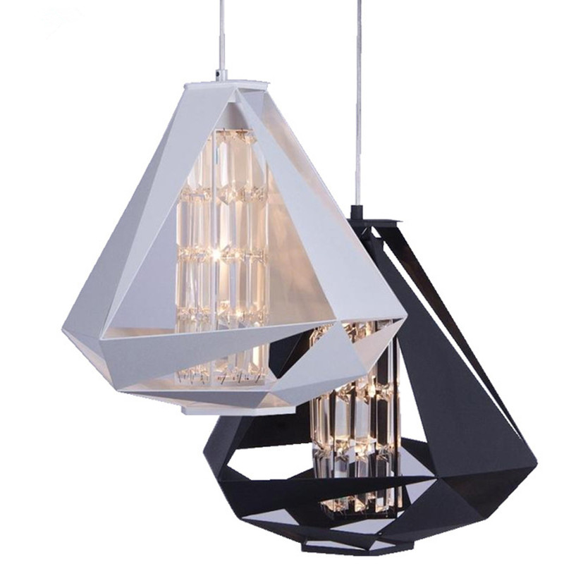 Modern Pendant Lights LED Crystal Black Pendant Lamp For Living Room Kitchen Hanging Lamp luminaria avize Light Fixtures mamei free shipping 3 lights crystal led pendant light fixtures for dinner room kitchen island led included