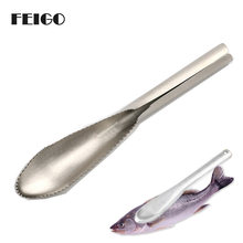 1 шт кухонный скребок для чешуи из нержавеющей стали