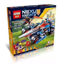 2016 New LEPIN Knights Nexus Building Blocks Clay's Rumble Blade Jestro Clay Minifigures Buildable Figures Compatible with Legoe