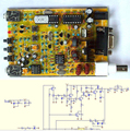 1PCS 51 Super RM Rock Mite QRP CW Transceiver HAM Radio Shortwave Telegraph DIY Kit