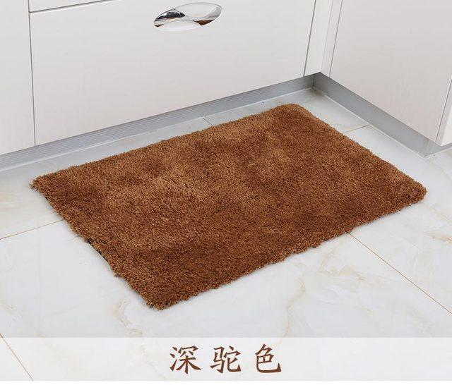 2017 New Bath Mats Anti Slip Soft Memory An Style Tatami Rugs Bathroom Carpets Floor