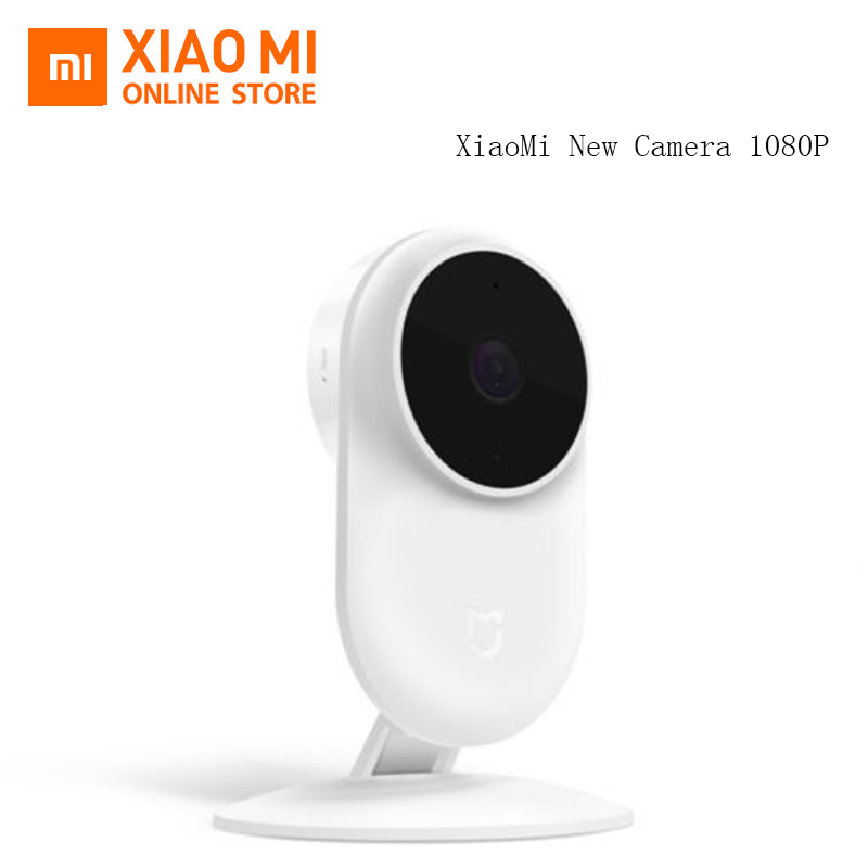Updated Original Xiaomi Mijia 1080P IP Camera 130 Degree FOV Night Vision 2.4Ghz Dual band WiFi Xiaomi Home Kit Security Monitor