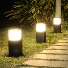 Thrisdar открытый сад Пейзаж лампы для газонов водонепроницаемый путь вилла во дворе газон столб светильник парк уличный столбик лампа