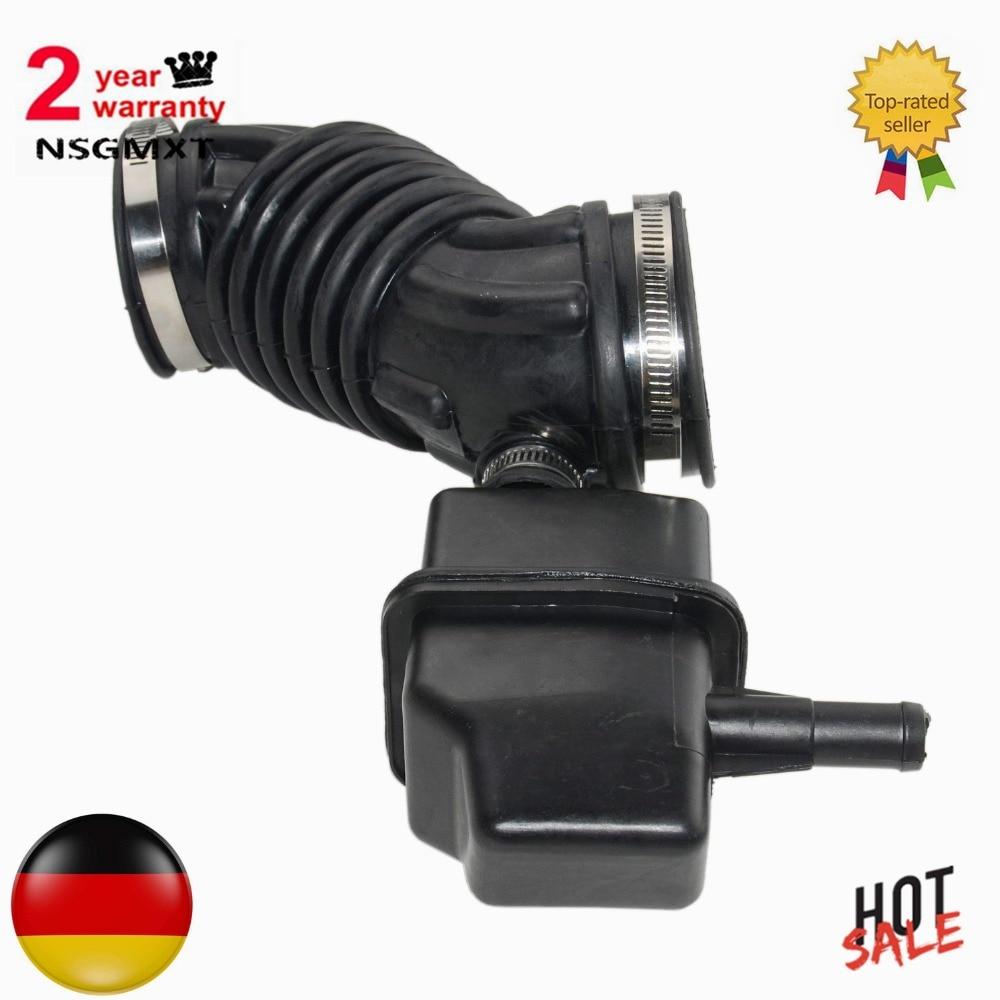 BMW E46 3.0 AIR FILTER FLOW METER INTAKE HOSE PIPE RUBBER BOOT 13541438761