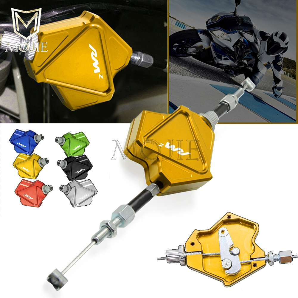 ツ)_/¯Motorcycle CNC Aluminum Stunt Clutch Lever Easy Pull ... on
