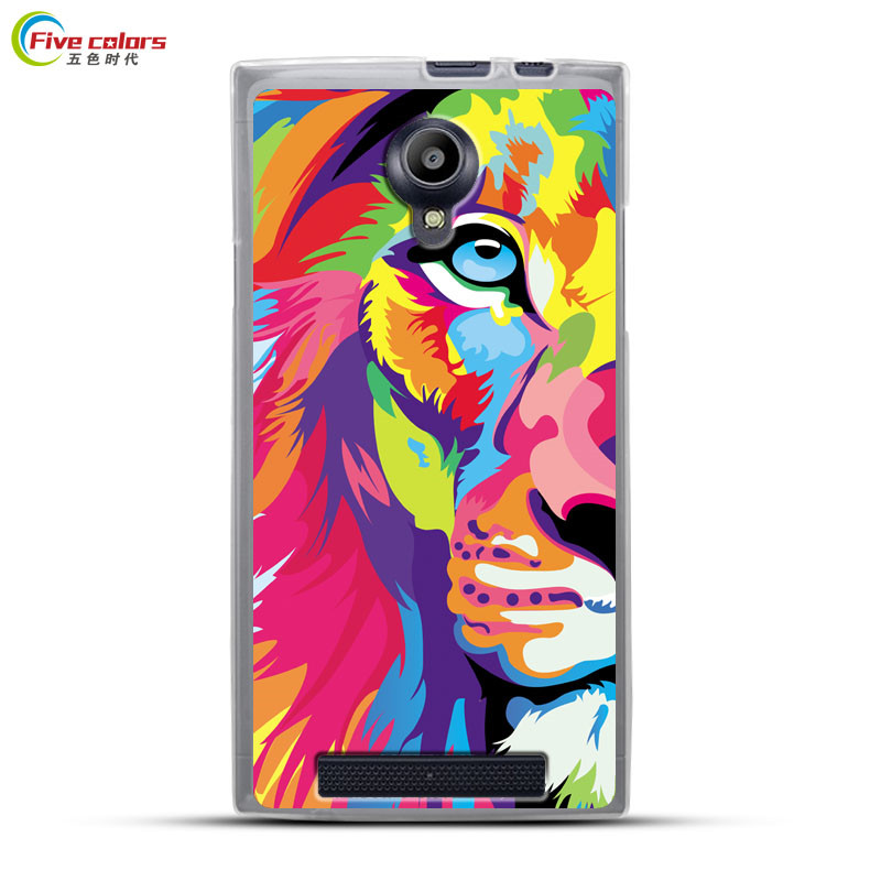 Silicone Phone Case For THL T6 T6S T6C T6 PRO 5.0 inch Back Cover For THL T6 T6 PRO Cartoon Painted Case Capa Coque Funda Bag