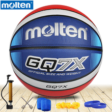 original molten basketball ball GP76/GQ7XNEW Brand High Quality Genuine Molten PU Material Official Size7 Basketball
