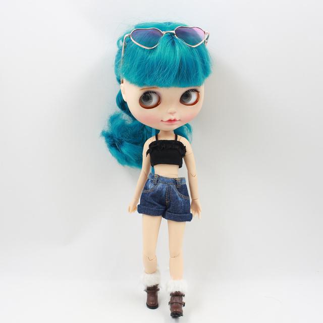 Neo Blythe Doll Heart Shape Glasses
