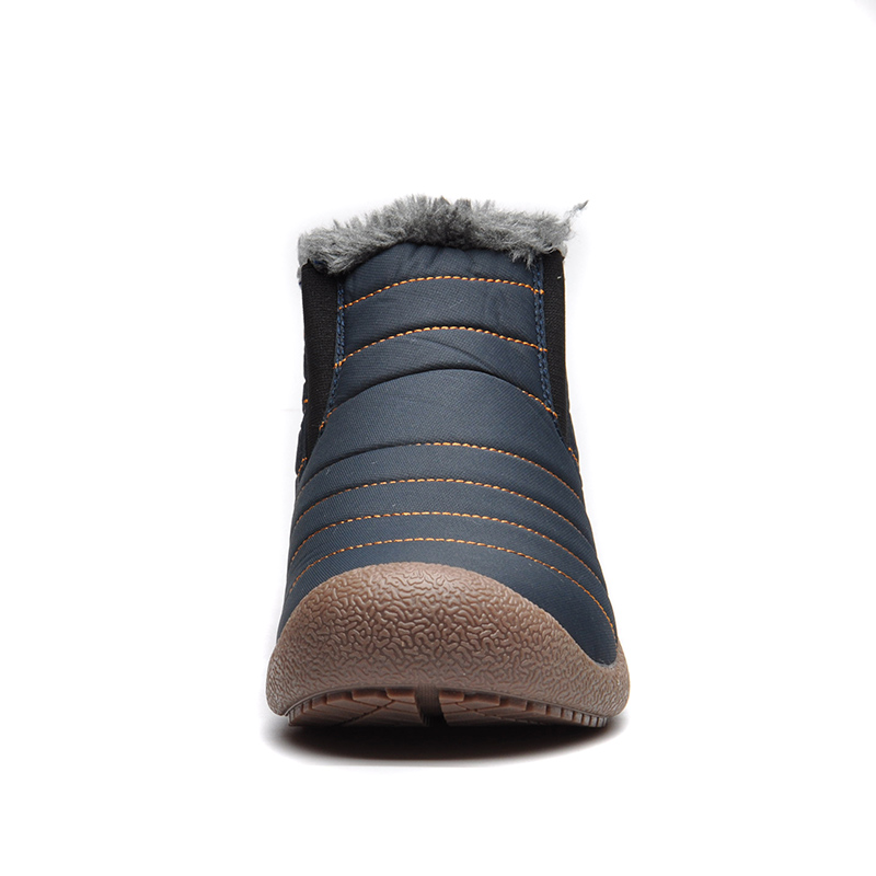 0f26114ff2622 UPUPER Waterproof Men Winter Snow Boots Shoes Men Lightweight Ankle Boots  Plush Warm Slip On Mens Rain Boots Big Size 38 47-in Snow Boots from Shoes  on ...