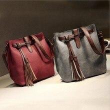 Women Casual PU Leather Bucket Handbags Madam Fashion Shoulder Bags For Teenage Girls Shopping Messenger Bags