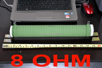 8 Ohm 500 Watts High Power Ceramic Tube Wirewound Resistor 500W Audio Amplifier Dummy Load