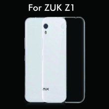 New Ultra Thin 0.3mm Soft TPU Transparent clear back case cover for ZUK Z1 phone cases z1