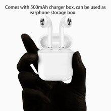 F11 Mini TWS Chamando Estéreo Binaural Fones de Ouvido Bluetooth 4.2 fone de Ouvido de Redução de Ruído Sem Fio Fone De Ouvido Esporte Com Caixa Carregador