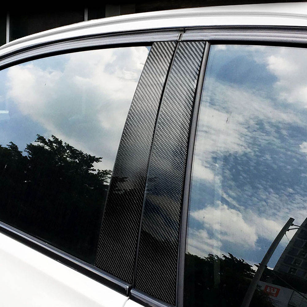 1 Set voiture fenêtre b-piliers autocollants moulage garniture style accessoires pour BMW E70 E90 F10 M8617