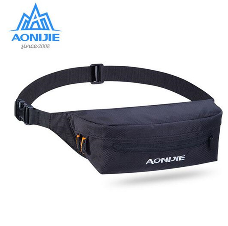 AONIJIE Outdoor Sport Running Waist Belt Bag For Mobile Phone Multipurpose Waist Bags Portable Mini Money Fanny Pack in Running Bags from Sports Entertainment