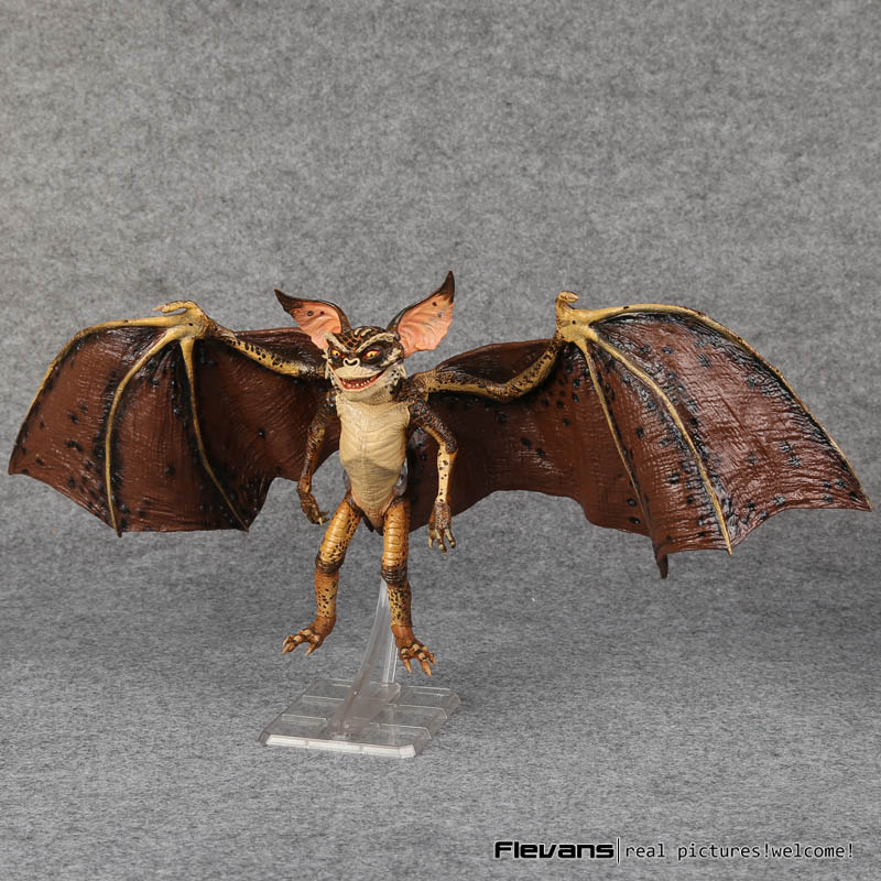 NECA Gremlins Bat Gremlin PVC Action Figure Collectible Model Toy 7 18cm neca the evil dead ash vs evil dead ash williams eligos pvc action figure collectible model toy 18cm kt3427