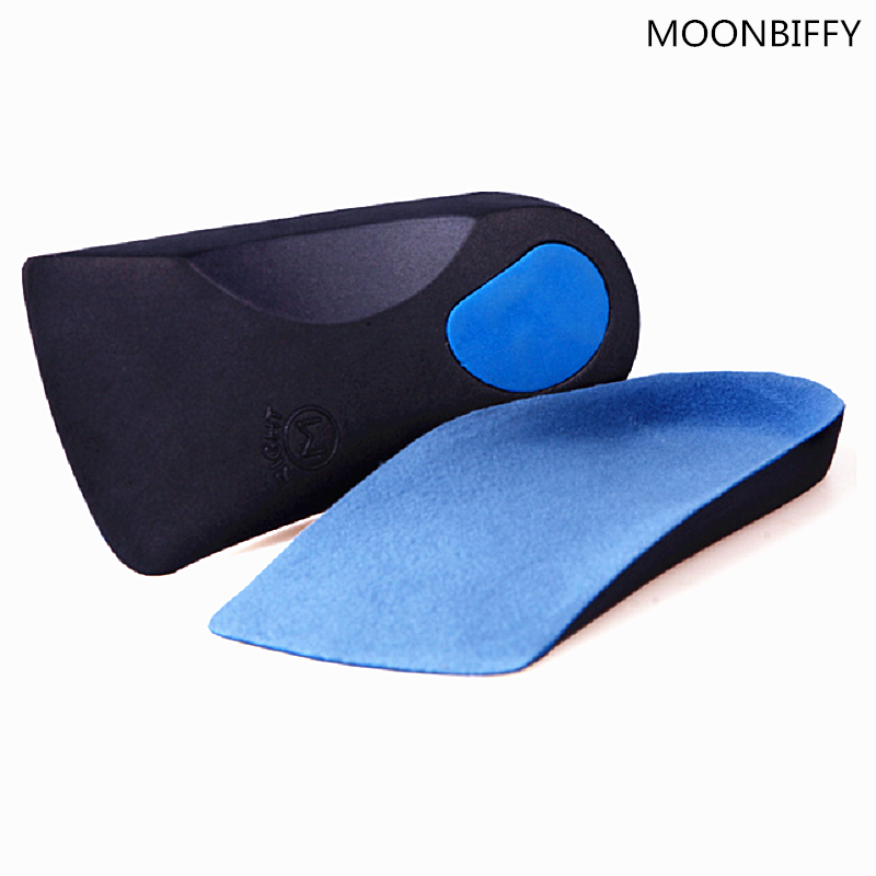 EVA Flat Foot Orthotics Arch Support Half Shoe Pad Orthopedic Insoles Foot Care for Men and Women breathable shoe pad orthopedic insoles flat foot arch support insoles deodorant shoes insoles pads palmilha accessoire chaussure
