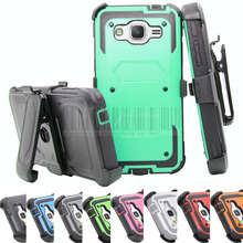 Heavy Duty Anti-shock Impact Armor Cover Hybird Rugged Case Holster With Belt Clip For Samsung Galaxy On 5 ON5 G5500 5.0 inch