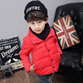 Down Boys' Jacket 2016 New Fashion Ultra Light Winter Jacket for Girls Children Down Coat Children Down & Parkas Boys Parka