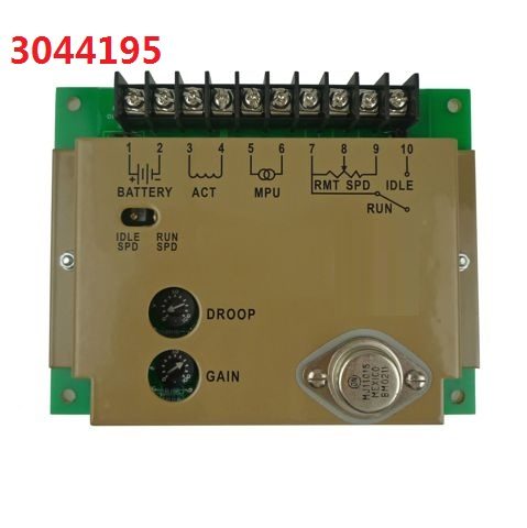 Generator Speed Controller 3044195 Speed Governor Control Board 3044195 electronic speed governor esd5520 generator speed control esd5520