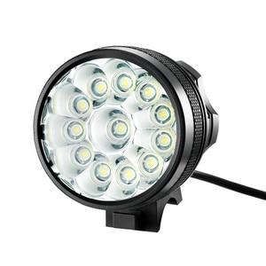 Хит продаж, велосипедный светильник 12x XM-L T6, светодиодный светильник на голову велосипеда, 9400 люмен, фонарь для горного велосипеда, рыболовн...