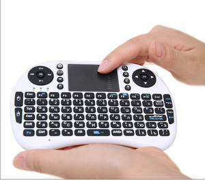 Image 5 - 7 color backlit i8 Mini Wireless Keyboard 2.4ghz English Russian 3 colour Air Mouse with Touchpad Remote Control Android TV Box