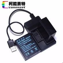 CONENSET BLH-1 BLH1 2PC Li-ion Battery + USB Charger For Olympus EM1 E-M1 Mark II Digital Camera