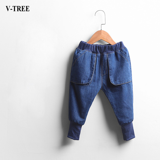 High Quality Fashion Children Jeans For Boys And Girls Jeans Baby Harem Pants Kids Jeans Pants Baby Clothes For New Year Spring
