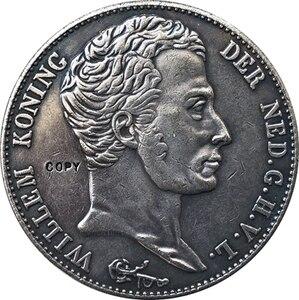 Нидерланды 1831 3gulden копия монеты 40 мм