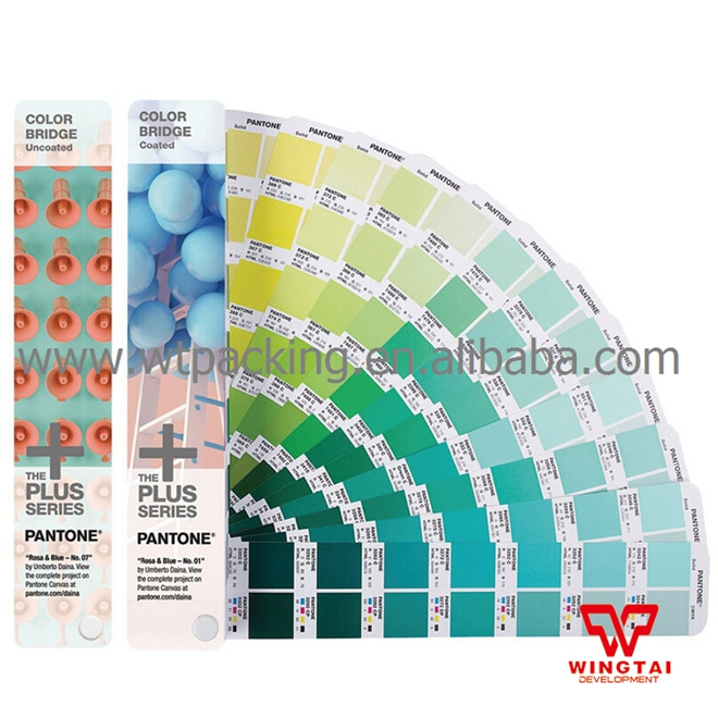 Latest Pantone Color Bridge Coated and Uncoated Paper Color Guide GP6102N цветовые карты pantone 2015 cu gp1601
