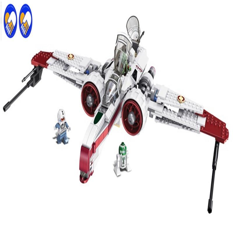 A Toy A Dream LEPIN 35004 Star Wars The X-wing Red Five Star Model Building Kit Set Blocks Bricks