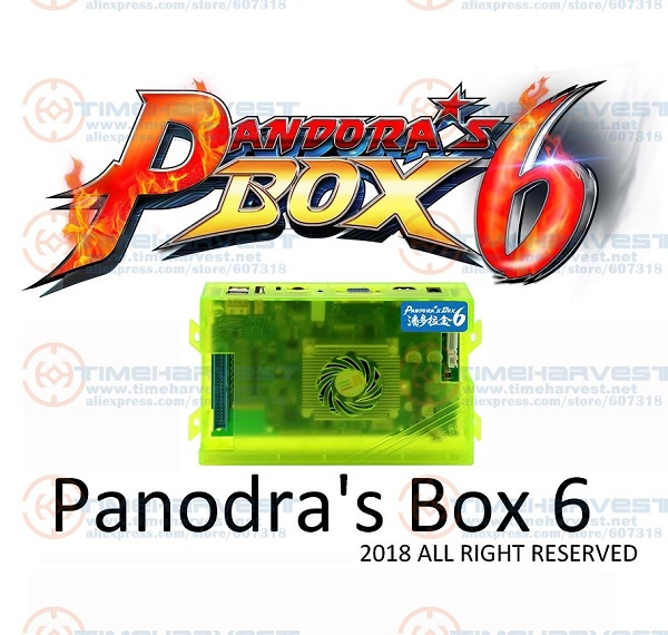 New Arrival original Pandora Box 6 Home Edition 1300 in 1 Games board Family Version for