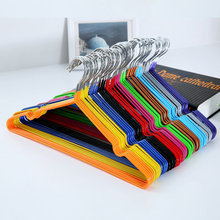 EZLIFE Durable Hanger Anti-skid Plastic Clothes Hangers For Clothes Drying Clothes Rack Adult And Children Hanger