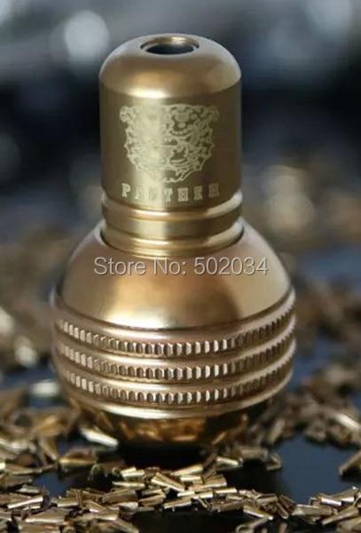 USA Dispatch 2015 New Brass Dull Polish spherical Tattoo Grip Back Stem Tattoo accessory for tattoo machine gun supplies