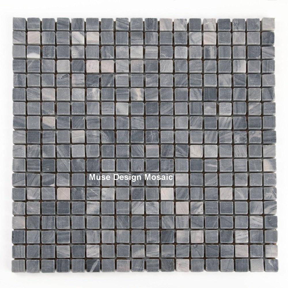 Natural stone bathroom tiles 25 off marshalls natural stone tiles - Natural Grey Marble Stone Mosaic Tiles Wall Floor Tile Decoration For Kitchen Backsplash Shower Bathroom Nightclubs