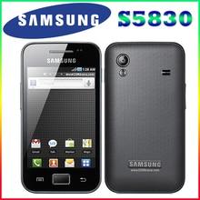 S5830i samsung galaxy ace s5830 оригинальный разблокирована android 5mp wifi gps разблокированным мобильных телефонов бесплатная доставка