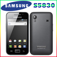 S5830i Samsung Galaxy Ace S5830 Original Unlocked Android 5MP WIFI GPS Unlocked Mobile Phone Free Shipping