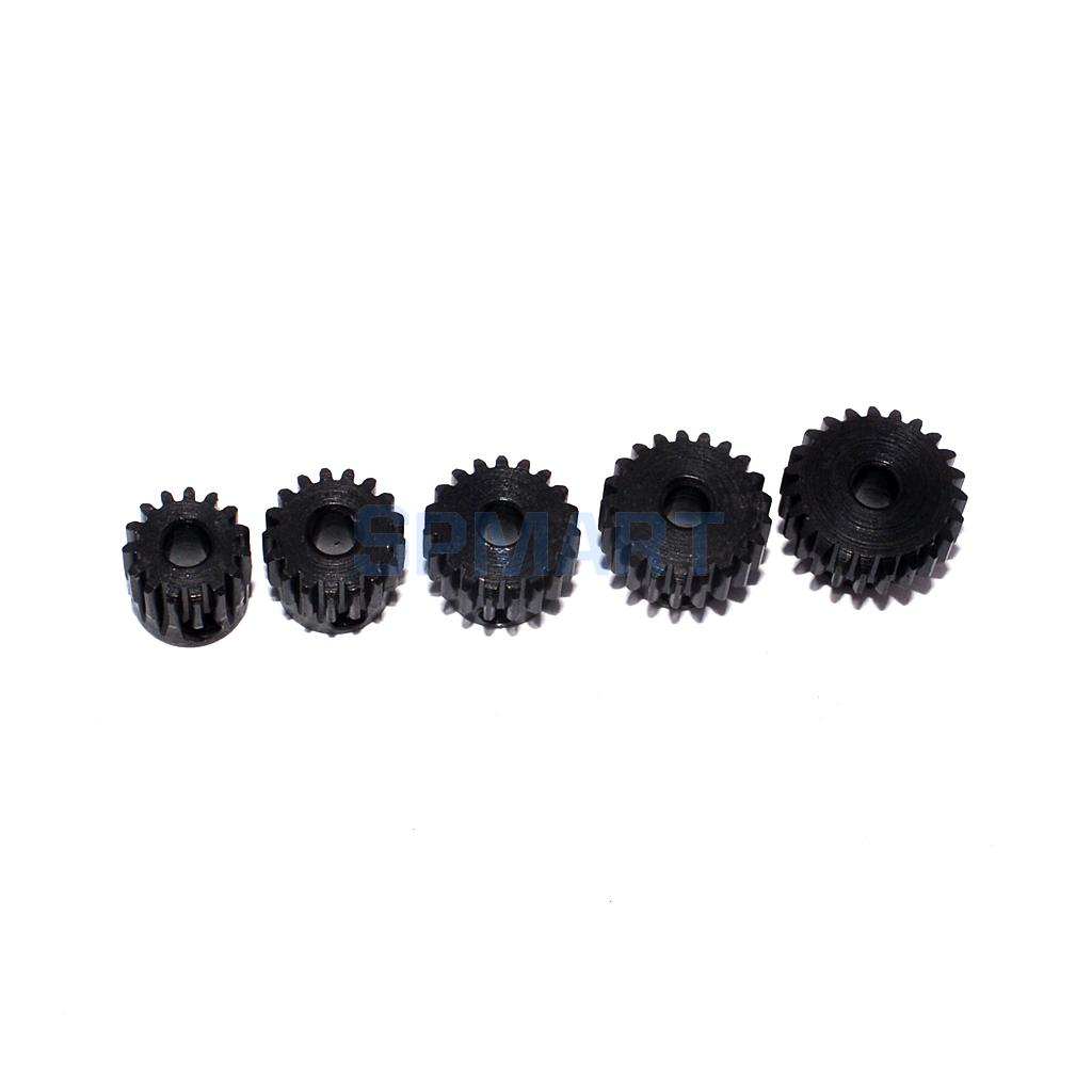 48DP 19T-21T Pinion 3.175mm Motor Gear Set for 1//10 RC Car DIY Accessories
