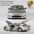 Adulto/Niño Juguetes de Aleación Modelo de Coche 1/18 Coche de colección 6 Piezas Abrir Diecast Car Model