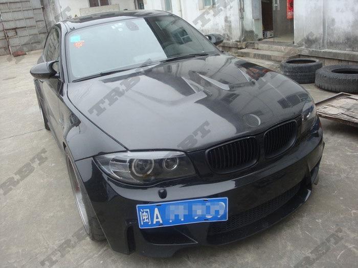 2011-2012 BMW 1M Carbon Fiber Ap Style Hood (1)