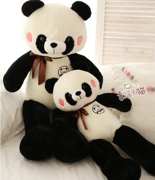 150cm Lovely Panda toy Cute Stuffed Kid Animal Soft Plush Panda big size pillow birthday gift high quality - 3