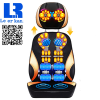 LEK918S Electric Vibrating Back Massager High Quality Body Heating Massage Chair Sofa Device Neck Massage Cushion